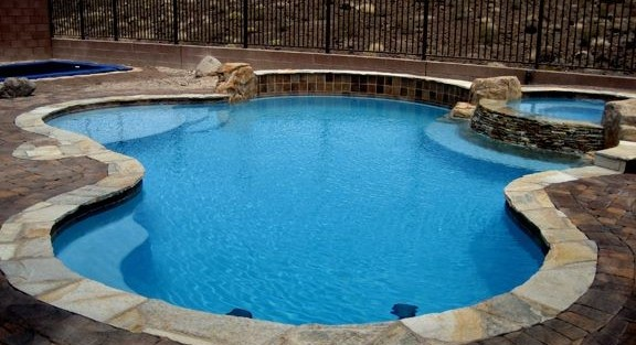 Options In Swimming Pool Coping Tiles